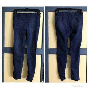 MD Wax Jeans blue skinny jeans